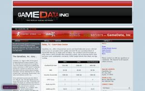 GameData Inc. – $4.13/month 1GB RAM/80GB disk space OpenVZ VPS in Dallas