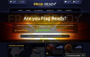 FragReady – $49/month Dual L5420/8GB RAM/500GB HD in Chicago and Dallas