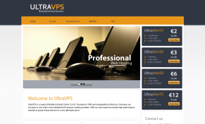 UltraVPS – €2/month 512MB and €3/month 1GB Xen VPS in Düsseldorf, Germany