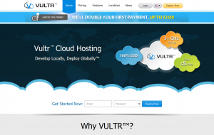 Vultr – $5/month 768MB KVM VPS in multiple locations and $5/month 160GB storage VPS in NJ