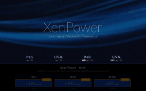 XenPower – $15.99/quarter 1GB/200GB and $20.05/quarter 2GB/400GB Xen VPS in Milan, Italy