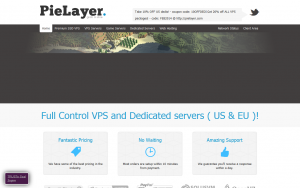 PieLayer – 5 offers starting at $14/year in three US locations, the UK, and Germany