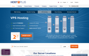 Host1Plus – OpenVZ VPS in Brazil, South Africa, Germany, USA starting at $2/month