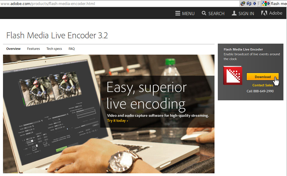 How To Stream Video Using Adobe Flash Media Live Encoder Download