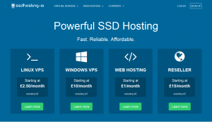 SSDHosting.io – $4.85/month 1GB Xen VPS with SSD in Hemel Heampstead