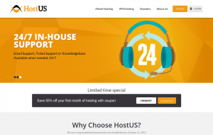 HostUS - $10/year 768MB and $18/quarter 6GB OVZ in three US