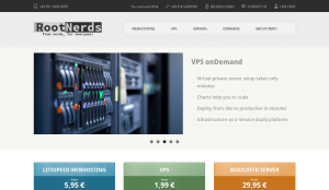 RootNerds – OpenVZ VPS in Frankfurt, Germany starting at €1.99/month for 1GB