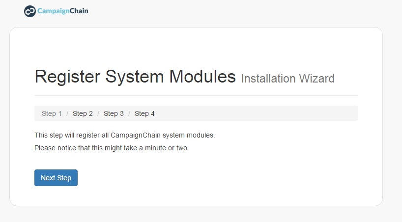 Register system modules