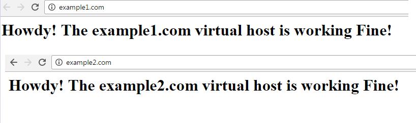 How to Setup Apache Virtual Hosts on Ubuntu 16 04 - Low End Box Low