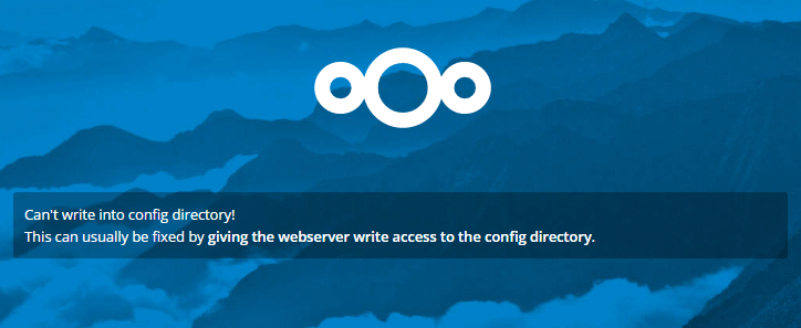 nextcloud permission issues and fix