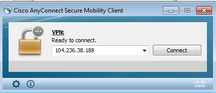 cisco anyconnect connect window