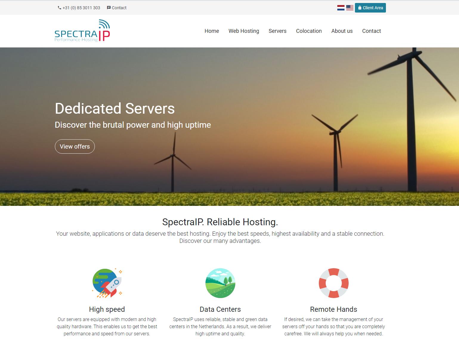 SpectraIP - VPS Hosting Provider