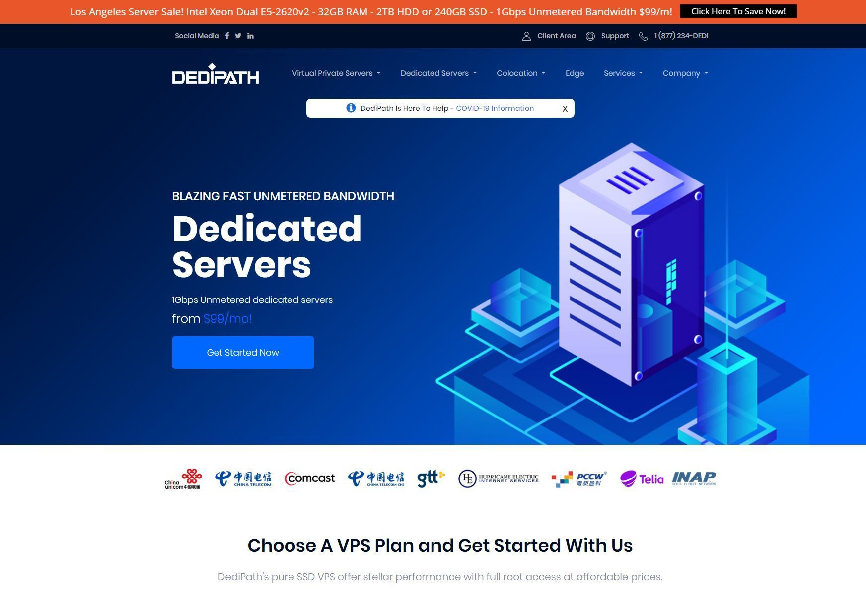 DediPath - OpenVZ VPS, KVM VPS and Dedicated Servers