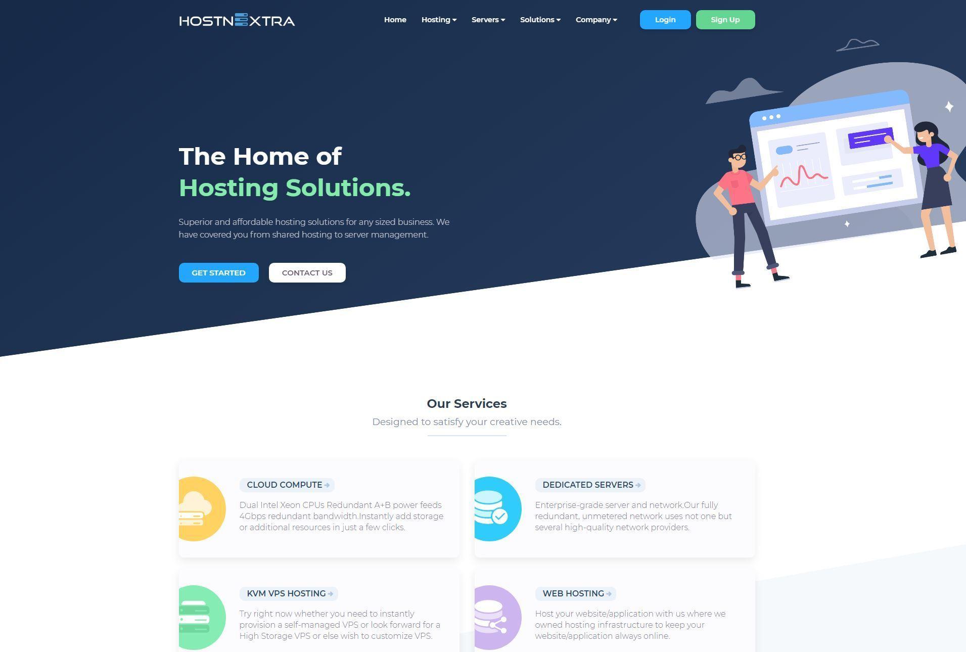 HostnExtra - Cheap VPS Hosting in Dallas, Texas