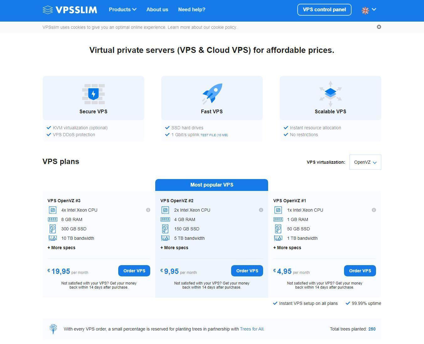 VPSSlim - Cheap VPS Hosting