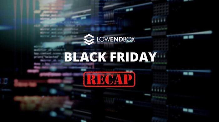 BLACK FRIDAY Recap: Best Black Friday 2020 Offers on LowEndBox & LowEndTalk!