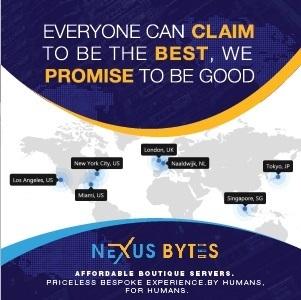 Nexus Bytes VPS Hosting